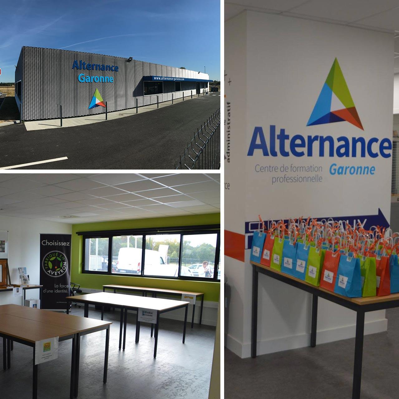 Nouveaux locaux pour notre centre de formation en Alternance à Estillac