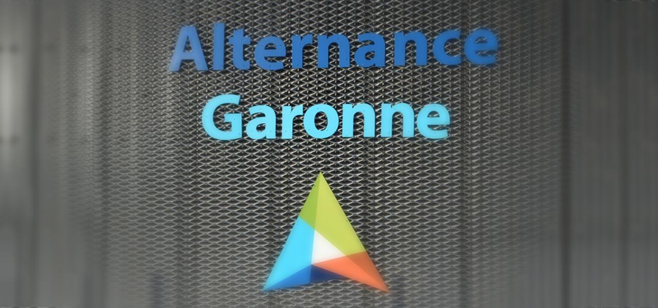 Logo Alternance Garonne nouveaux locaux à Estillac