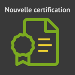Certification du centre de formation