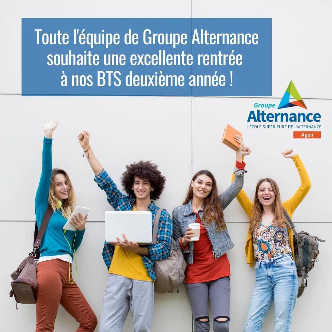 Groupe Alternance Agen Garonne nos conseils aux étudiants en alternance pour la rentrée